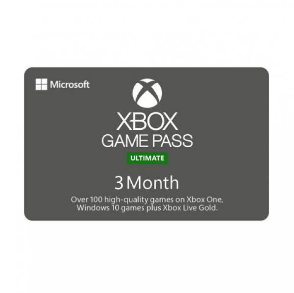 Abonnement Xbox Game Pass Ultimate 3 mois